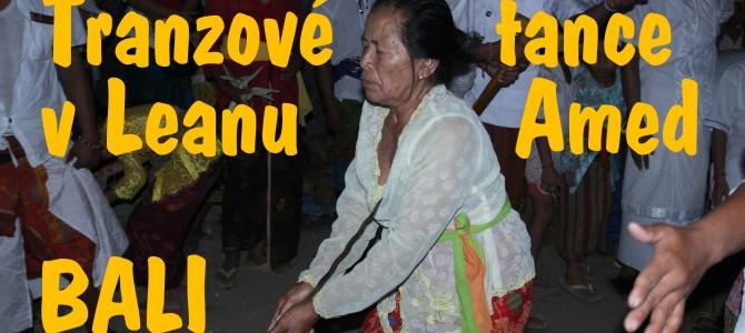Tranzové tance Bali